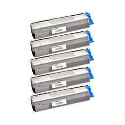 Logic-Seek 5 Toner kompatibel zu OKI C5800 HC