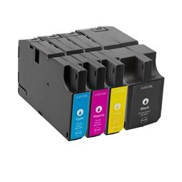 Logic-Seek 4 Tintenpatronen kompatibel zu Lexmark 210 XL