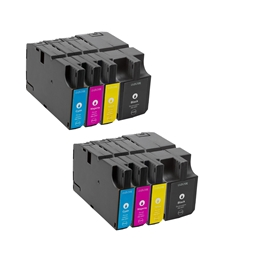 Logic-Seek 8 Tintenpatronen kompatibel zu Lexmark 210 XL