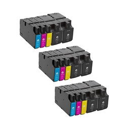 Logic-Seek 15 Tintenpatronen kompatibel zu Lexmark 210 XL