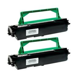 Logic-Seek 2 Toner kompatibel zu Epson EPL-5700 S050010 C13S050010 HC Schwarz