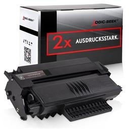 Logic-Seek 2 Toner kompatibel zu Philips 253109266 PFA-822 HC Schwarz
