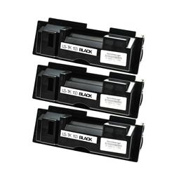 Logic-Seek 3 Toner kompatibel zu Kyocera TK-100 370PU5KW HC Schwarz
