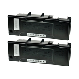 Logic-Seek 2 Toner kompatibel zu Kyocera TK-60 37027060 HC Schwarz