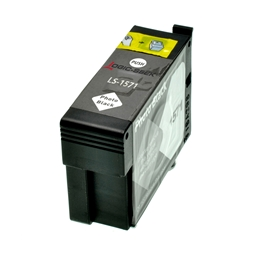 Logic-Seek  Tintenpatrone kompatibel zu Epson Stylus R3000 T1571 C13T15714010 XL Photo Schwarz