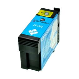 Logic-Seek  Tintenpatrone kompatibel zu Epson Stylus R3000 T1575 C13T15754010 XL Photo Cyan
