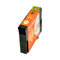 Logic-Seek  Tintenpatrone kompatibel zu Epson Stylus R2000 T1599 C13T15994010 XL Orange
