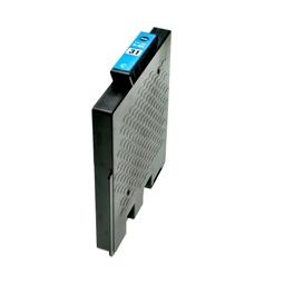 Logic-Seek  Tintenpatrone kompatibel zu Ricoh GC-31C 405689 XL Cyan