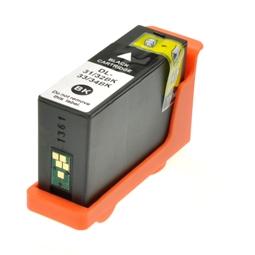 Logic-Seek  Tintenpatrone kompatibel zu Dell D31-34 KVH6V 592-11819 XL Schwarz