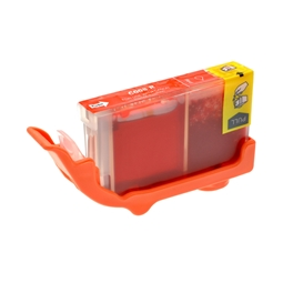 Logic-Seek  Tintenpatrone kompatibel zu Canon CLI-8R 0626B001 XL Rot