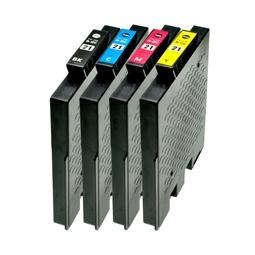 Logic-Seek 4 Tintenpatronen kompatibel zu Ricoh GC-21 XL