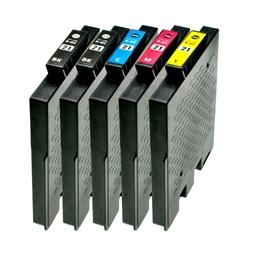 Logic-Seek 5 Tintenpatronen kompatibel zu Ricoh GC-21 XL