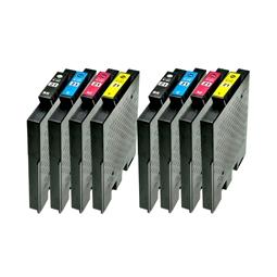 Logic-Seek 8 Tintenpatronen kompatibel zu Ricoh GC-21 XL