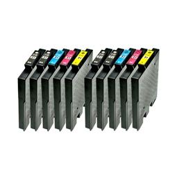 Logic-Seek 10 Tintenpatronen kompatibel zu Ricoh GC-31 XL