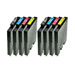 Logic-Seek 8 Tintenpatronen kompatibel zu Ricoh GC-31 XL