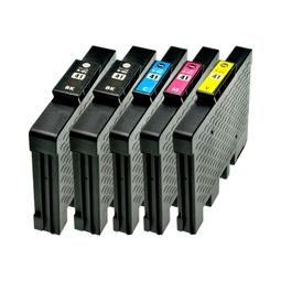 Logic-Seek 5 Tintenpatronen kompatibel zu Ricoh GC-41 XL