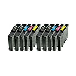 Logic-Seek 10 Tintenpatronen kompatibel zu Ricoh GC-41 XL
