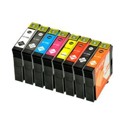 LS 8 Tintenpatronen für Epson T1590-T1599 XL 1xje