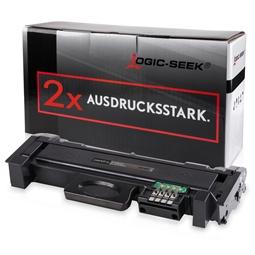 Logic-Seek 2 Toner kompatibel zu Samsung M2625 116L MLT-D116L/ELS HC Schwarz