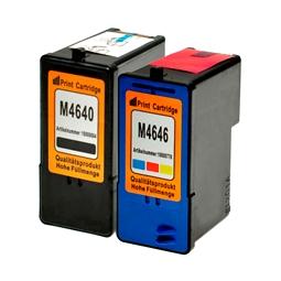 Logic-Seek 2 Tintenpatronen kompatibel zu Dell M4640 M4646 XL