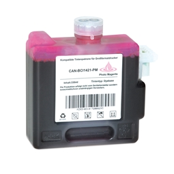 Logic-Seek  Tintenpatrone kompatibel zu Canon BCI-1421PM 8372A001 XL Photo Magenta