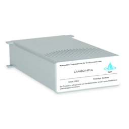 Logic-Seek  Tintenpatrone kompatibel zu Canon BCI-1401C 7569A001 XL Cyan