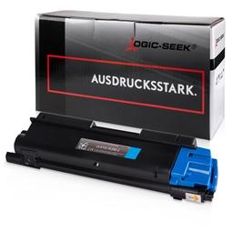 Logic-Seek  Toner kompatibel zu Kyocera TK-580C 1T02KTCNL0 UHC Cyan