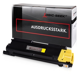 Logic-Seek  Toner kompatibel zu Kyocera TK-580Y 1T02KTANL0 UHC Yellow
