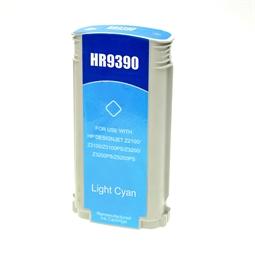 Logic-Seek  Tintenpatrone kompatibel zu HP 70 C9390A XL Photo Cyan