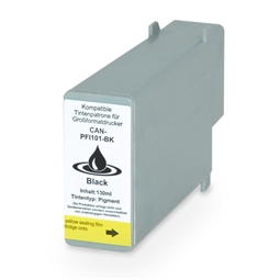 Logic-Seek  Tintenpatrone kompatibel zu Canon PFI-101BK 0883B001 XL Schwarz
