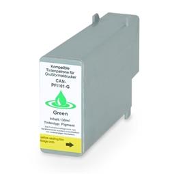 Logic-Seek  Tintenpatrone kompatibel zu Canon PFI-101G 0890B001 XL Grün