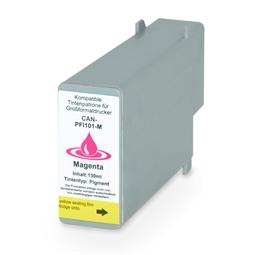 Logic-Seek  Tintenpatrone kompatibel zu Canon PFI-101M 0885B001 XL Magenta