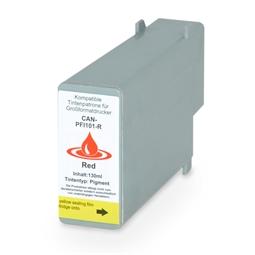 Logic-Seek  Tintenpatrone kompatibel zu Canon PFI-101R 0889B001 XL Rot