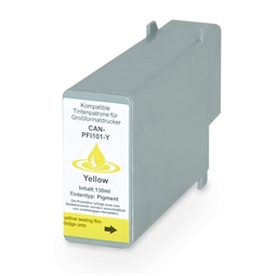 Logic-Seek  Tintenpatrone kompatibel zu Canon PFI-101Y 0886B001 XL Yellow