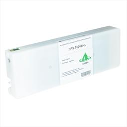 Logic-Seek  Tintenpatrone kompatibel zu Epson Pro 7900 9900 T636B C13T636B00 XL Grün