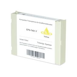 Logic-Seek  Tintenpatrone kompatibel zu Epson Pro 7000 T461 C13T461011 XL Yellow