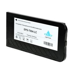Logic-Seek  Tintenpatrone kompatibel zu Epson Pro 10000 T504 C13T504011 XL Photo Cyan