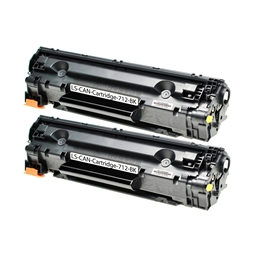Logic-Seek 2 Toner kompatibel zu Canon Cartridge 712 1870B002 HC Schwarz