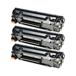 Logic-Seek 3 Toner kompatibel zu Canon Cartridge 712 1870B002 HC Schwarz