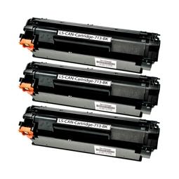Logic-Seek 3 Toner kompatibel zu Canon Cartridge 713 1871B002 HC Schwarz