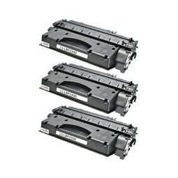 Logic-Seek 3 Toner kompatibel zu Canon Cartridge 708H 0917B002 HC Schwarz