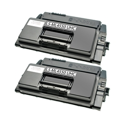 Logic-Seek 2 Toner kompatibel zu Samsung ML-4550 XL ML-D4550B/ELS UHC Schwarz