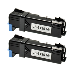 Logic-Seek 2 Toner kompatibel zu Xerox Phaser 6125 106R01334 HC Schwarz