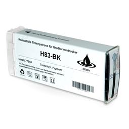 Logic-Seek  Tintenpatrone kompatibel zu HP 83 C4940A XL Schwarz
