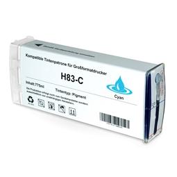 Logic-Seek  Tintenpatrone kompatibel zu HP 83 C4941A XL Cyan