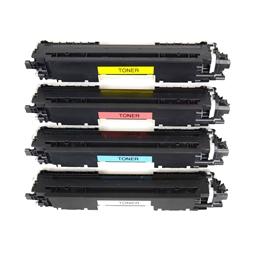 Logic-Seek 4 Toner kompatibel zu HP CF350A-CF353A HC