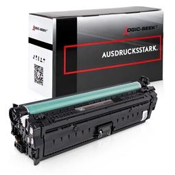 Logic-Seek  Toner kompatibel zu HP 651A CE340A HC Schwarz