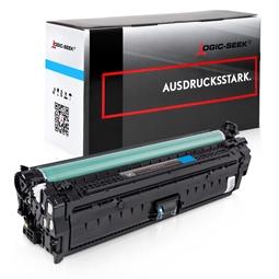 Logic-Seek  Toner kompatibel zu HP 651A CE341A HC Cyan