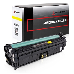 Logic-Seek  Toner kompatibel zu HP 651A CE342A HC Yellow