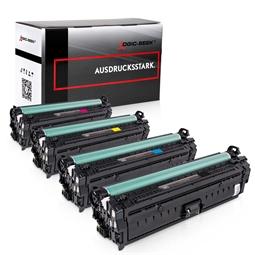 Logic-Seek 4 Toner kompatibel zu HP CE340A-CE343A HC